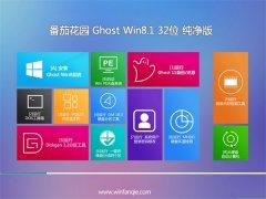番茄花园Windows8.1 2021 32位 专业纯净版